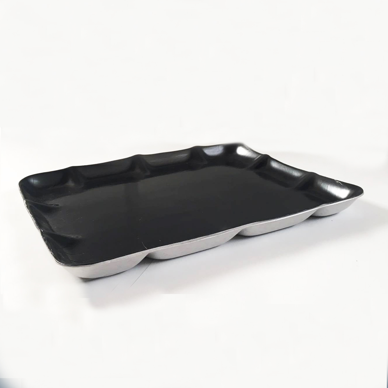 "Foam Tray Black Deep 11"" x 9"""