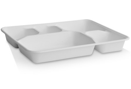 5 Deep Compartment Tray - 282x220x35 mm
