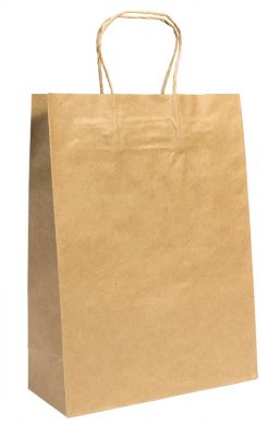 "Baby Brown Bag with Rope Handle ""260X170X50mm"""