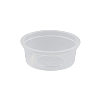 Portion Control Container - Round 100ml
