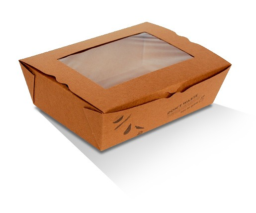 Lunch Box with PLA Window - Large