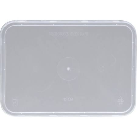 "Plastic Rectangle Lid ""Ribbed"" MPR"