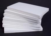 "Plain White Docket Book/Notepad ""3x5"""