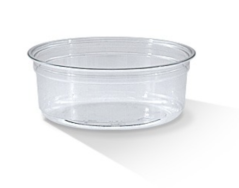 8oz PET Deli Container - 117x43 mm