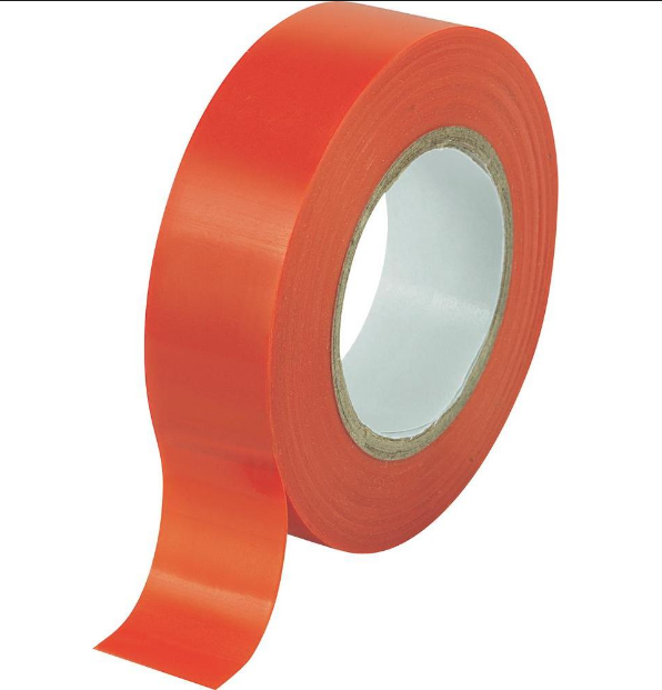 "Red PVC Tape ""12mm x 66m"""