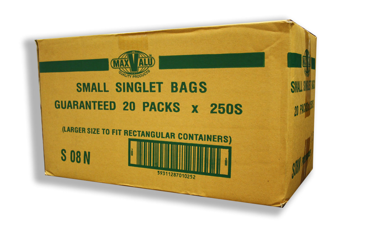 Small White Singlet Bag (190+110)x410mmx (SP)