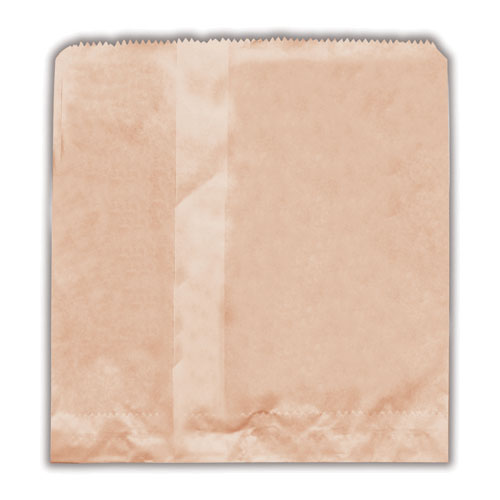 "Brown Paper Bag 2 Square ""200x215"""