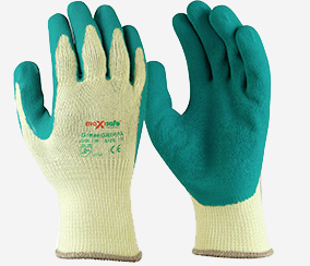 Maxisafe GreenGrippa Latex Gloves