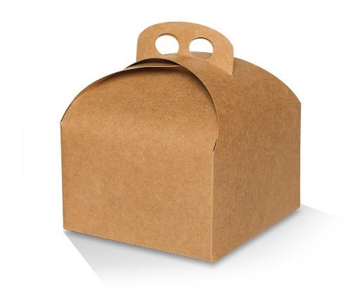 Cake Box Kraft Large (155x155x102mm)