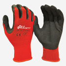 Gloves Gripmaster Maxisafe Red Knight