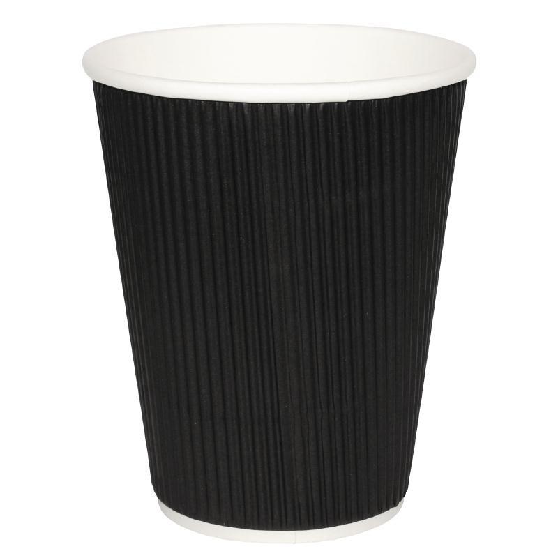 Velta Black 16oz Coffee Cup