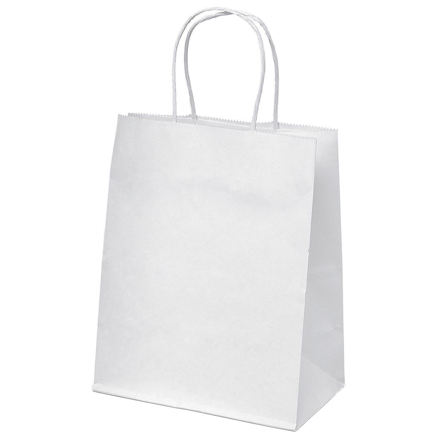 "Baby White Bag with Rope Handle ""260X170X50mm"""