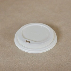 PAC Biodegradable PLA Lids to suit 6/8oz Coffee Cup