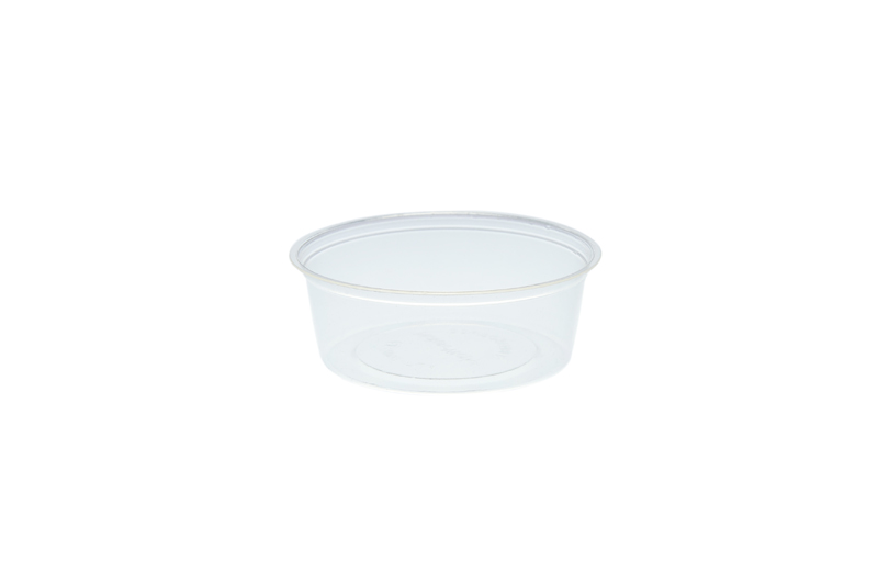 2oz (60ml) PLA cold portion pot - clear - Vegware