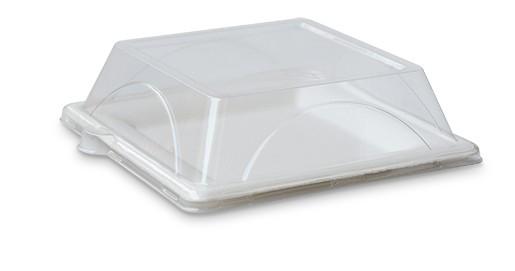 """8"""" Square Sugarcane Plate (200x200x15mm)"""