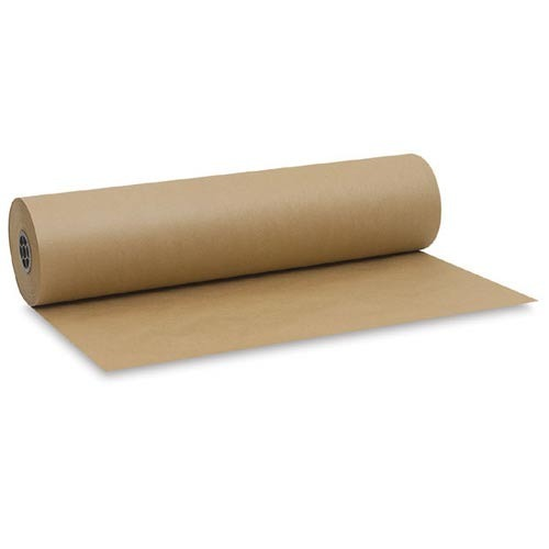 Brown Kraft Wrapping Paper on Roll - 900mm x 300m