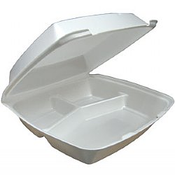 "Foam 3 Compartment Medium Container ""MP5/3"""