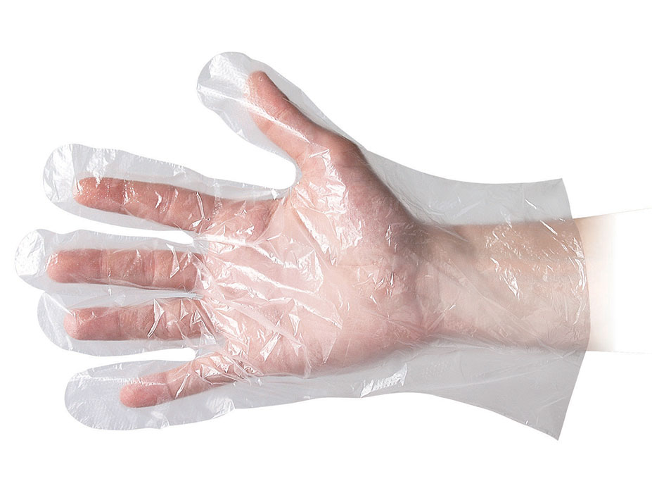 HDPE Quick Service Gloves - Clear