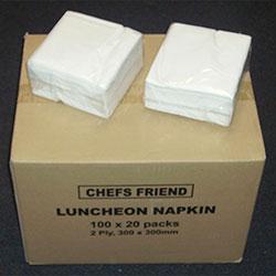 Napkin 2ply Luncheon 1/4 Fold
