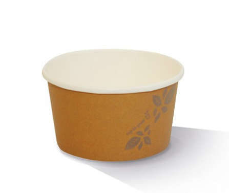 12oz PLA Hot/Cold Paper Bowl