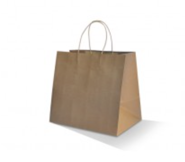 Brown Kraft Bag- Takeaway (320x350x230)