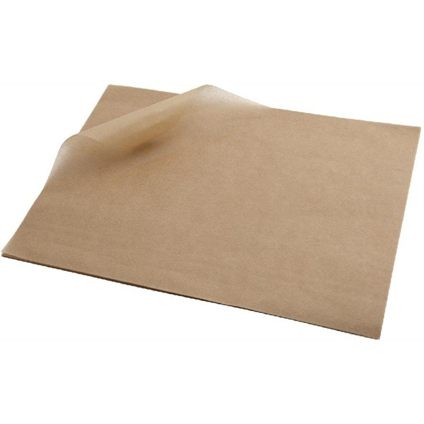Natural Kraft/Brown Grease Proof Paper 28gsm