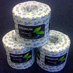 Premium 2ply 400 Sheet Toilet Roll Virgin Paper