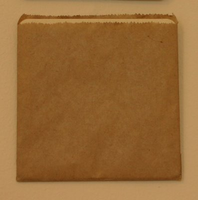 "GPL Brown Paper Bag 1/2 Square ""155x155"""