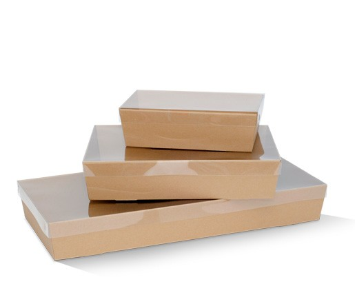 Brown Catering Tray Small Base BCTS 255X155X80 mm