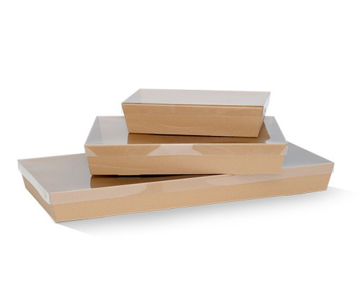 Brown Catering Tray Large Base BCTL50 - 50mm High
