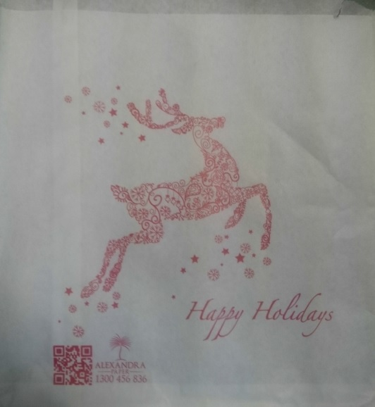 3 Sq Christmas Bag