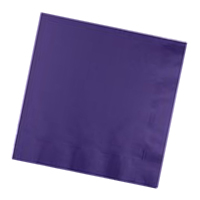 Napkin 2ply Dinner 1/4 Dark Purple