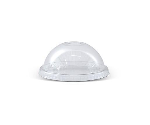 14-24oz PET Dome Lid/die-cut hole 98mm