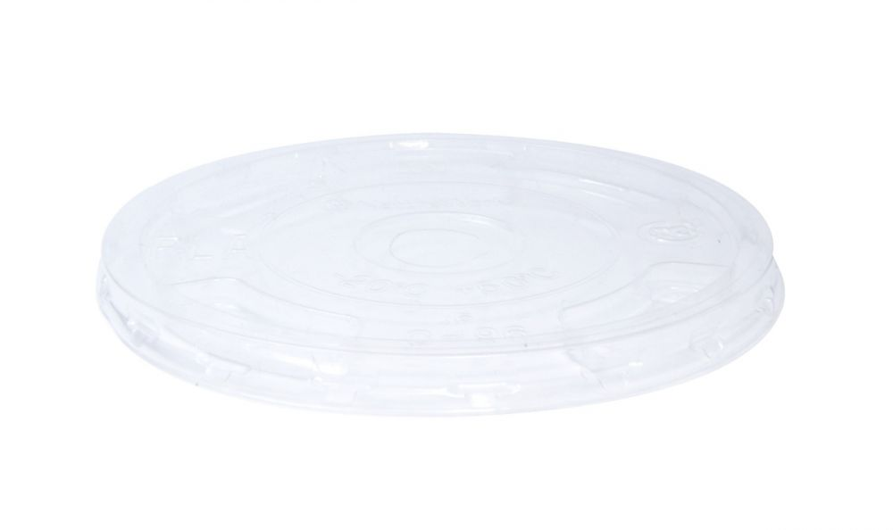 Clear Cup Lid Flat Small 7/8/10oz 78mm