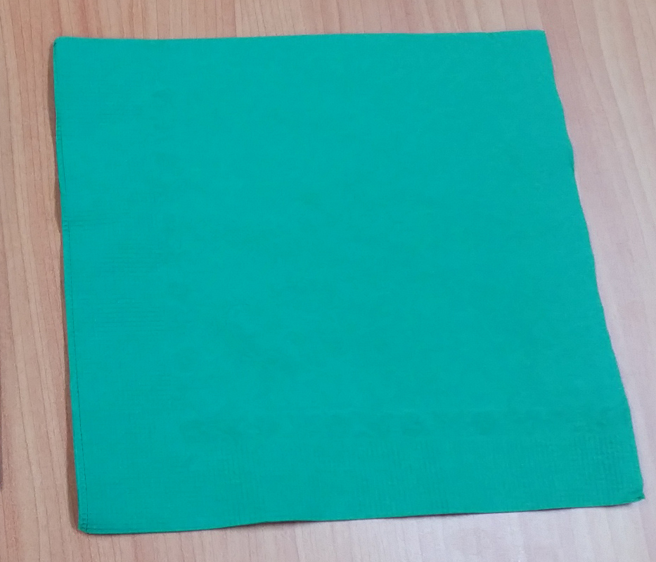 2ply Dinner Napkin Dark Green