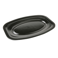 Castaway Medium Black Foam Platter - 240x360mm