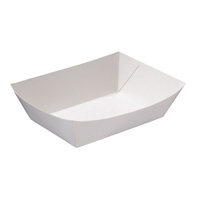 Rediserv Food Tray #6 (White)