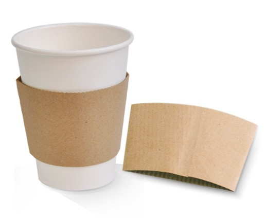 Coffee Cup Sleeve Kraft 12/16oz