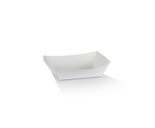 #1 EX Small Tray /White Cardboard