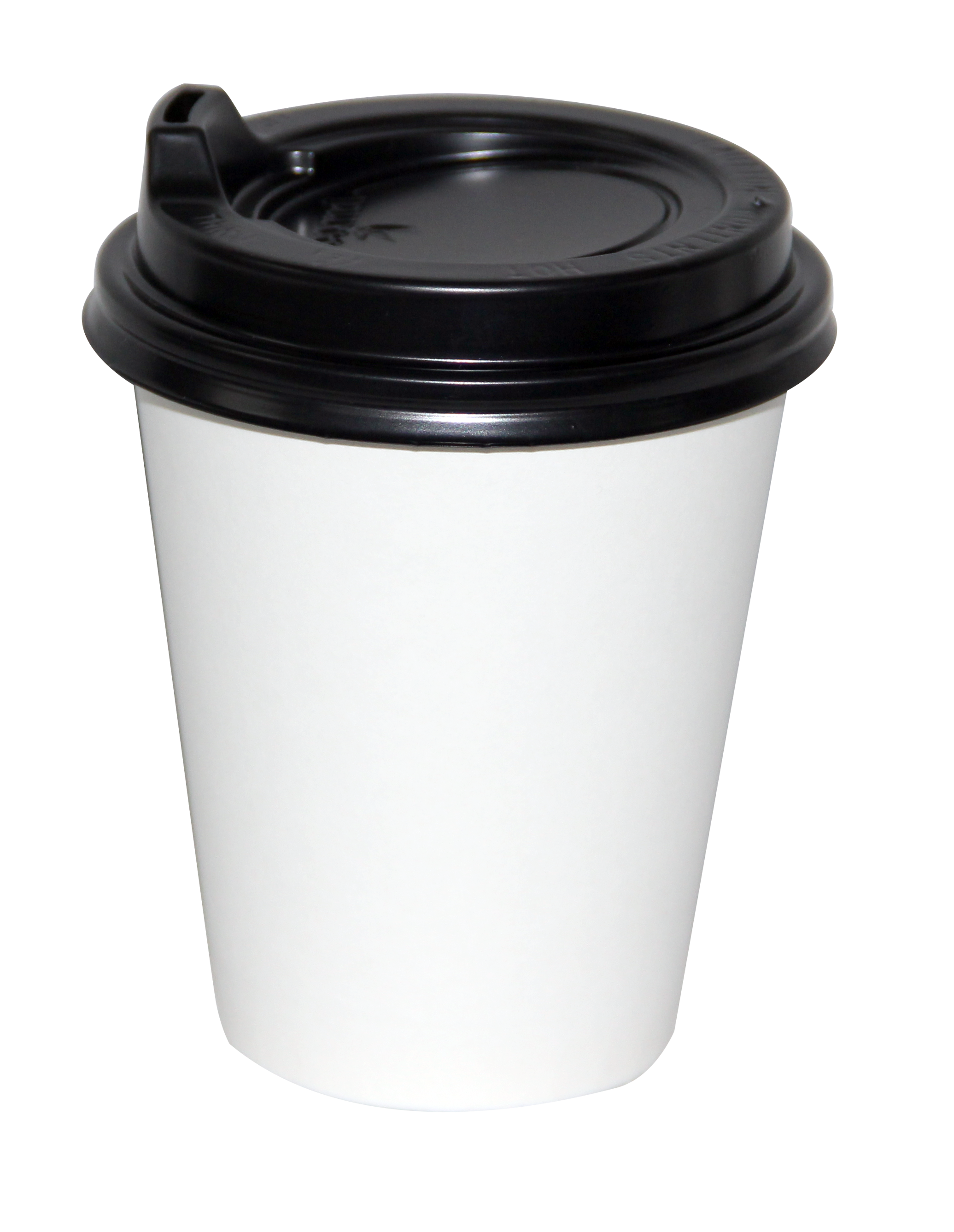 Velta White 8oz Squat Coffee Cup